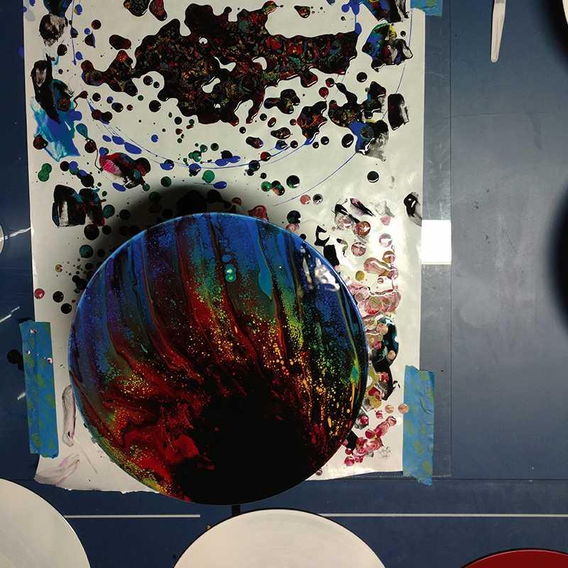 inprogress2-albums-upcycled-art-nc